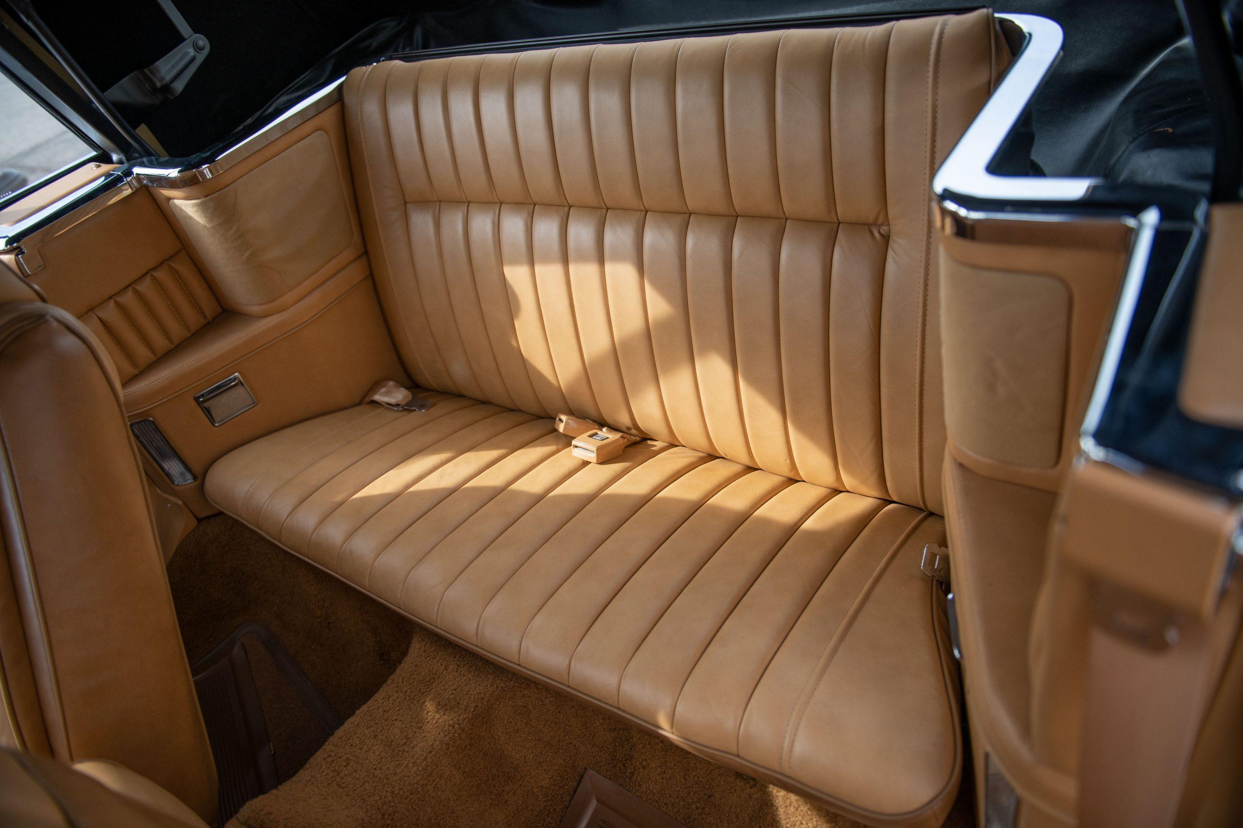 1985-Chrysler-LeBaron interior rear seat