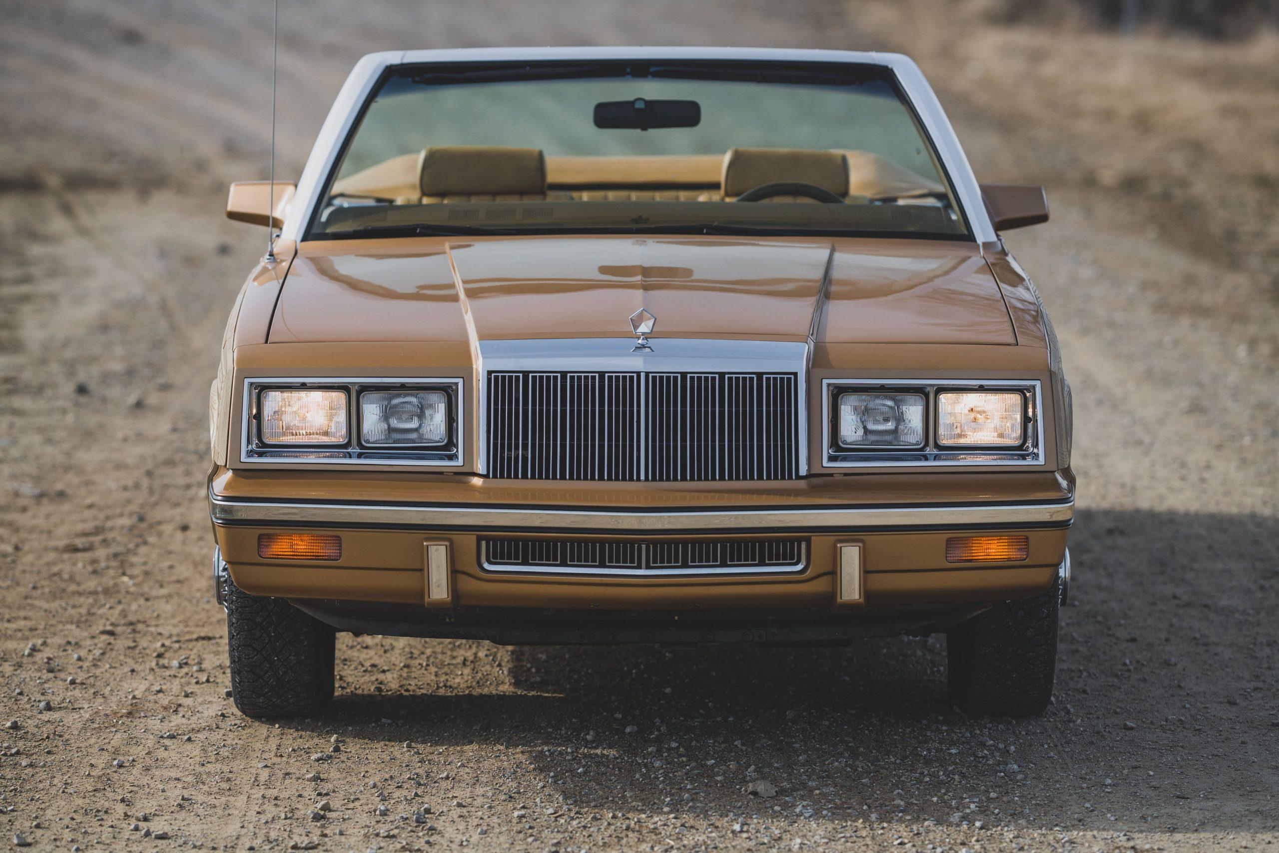 1985-Chrysler-LeBaron front