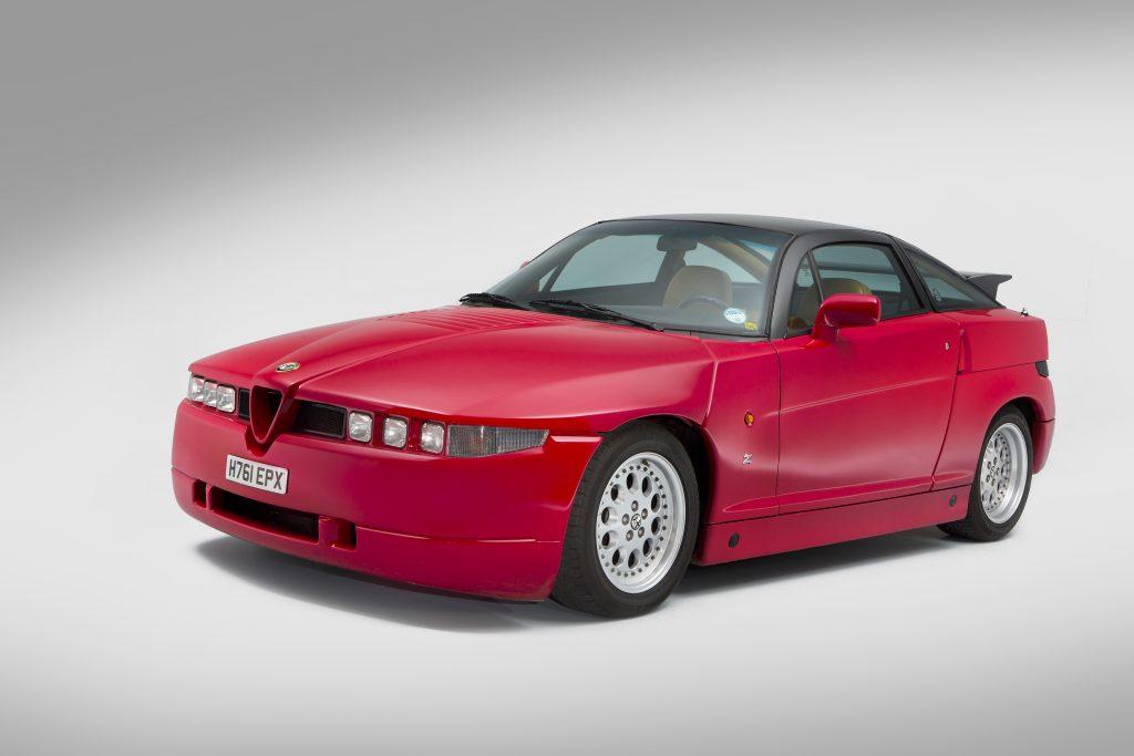 1991-Alfa-Romeo-SZ-front-three-quarter