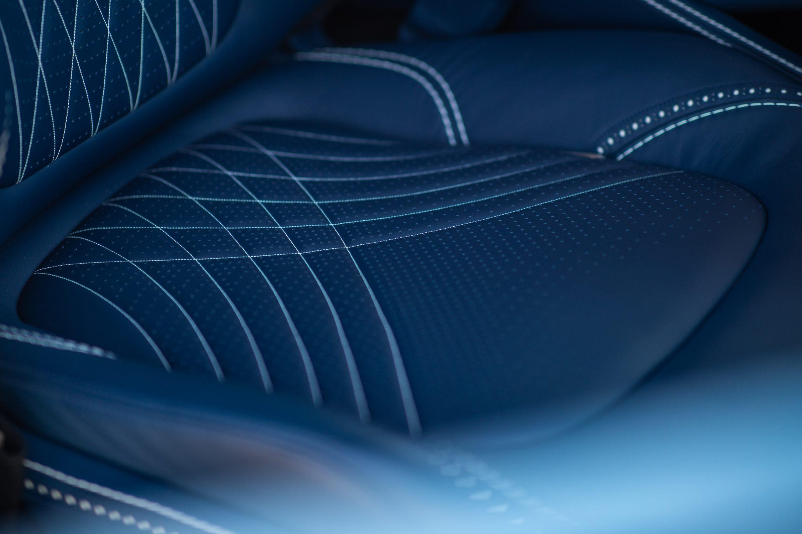 2021 Aston Martin DBX interior seat detail