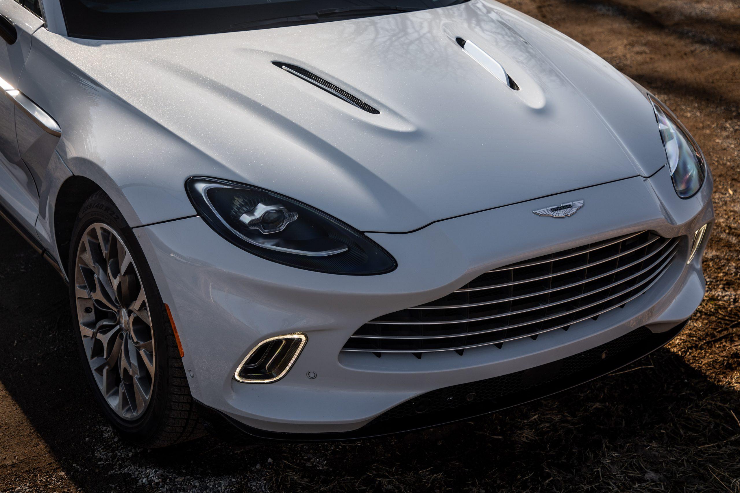 2021 Aston Martin DBX front hood