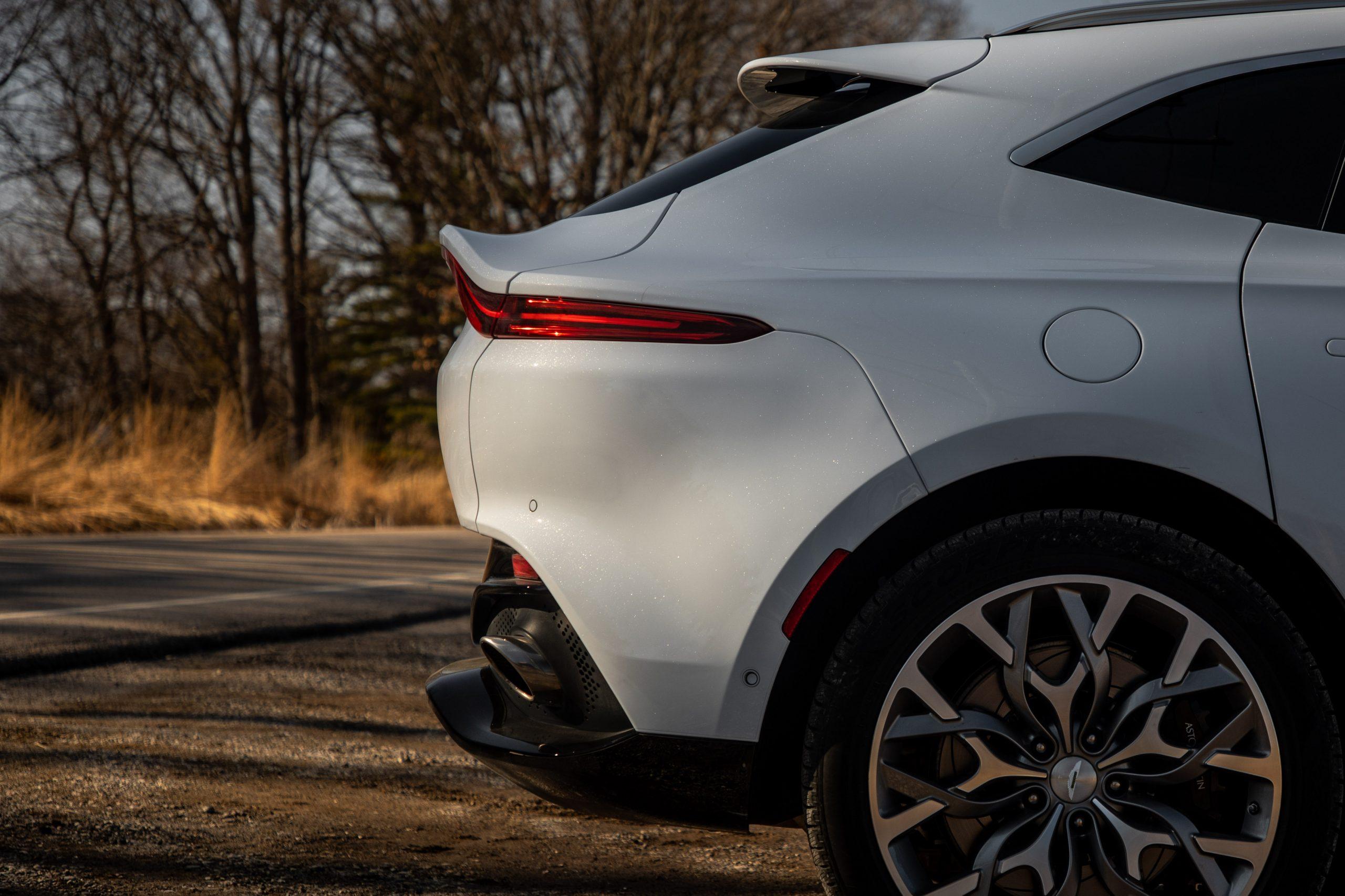 2021 Aston Martin DBX rear fascia