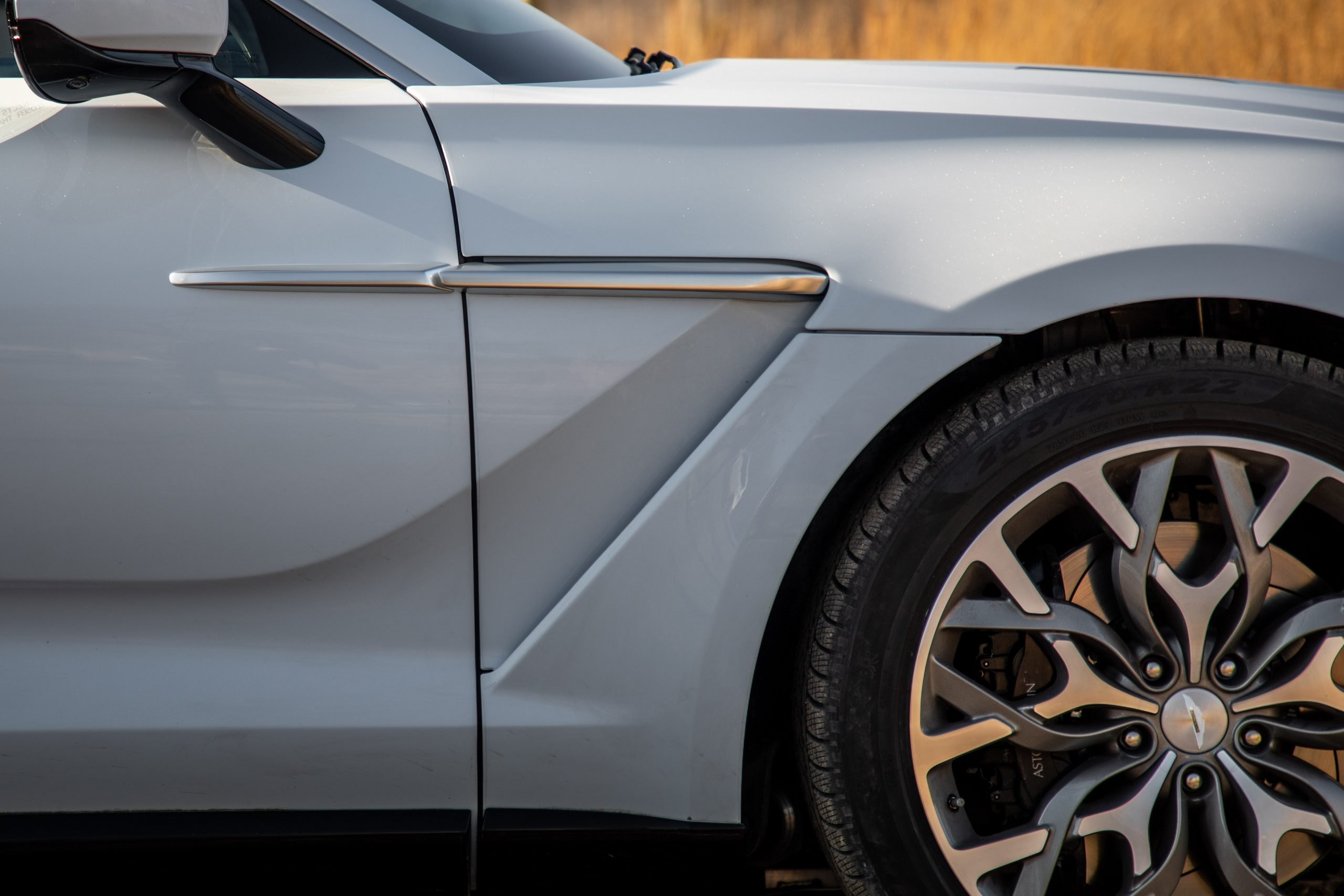 2021 Aston Martin DBX side detail