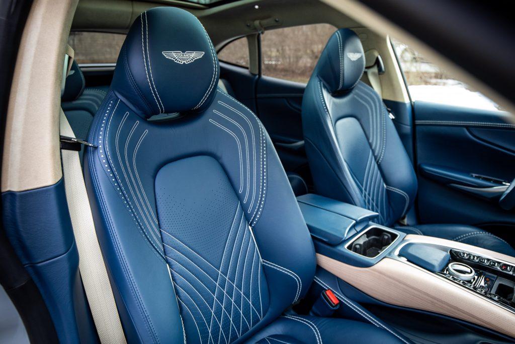 2021 Aston Martin DBX interior front seats