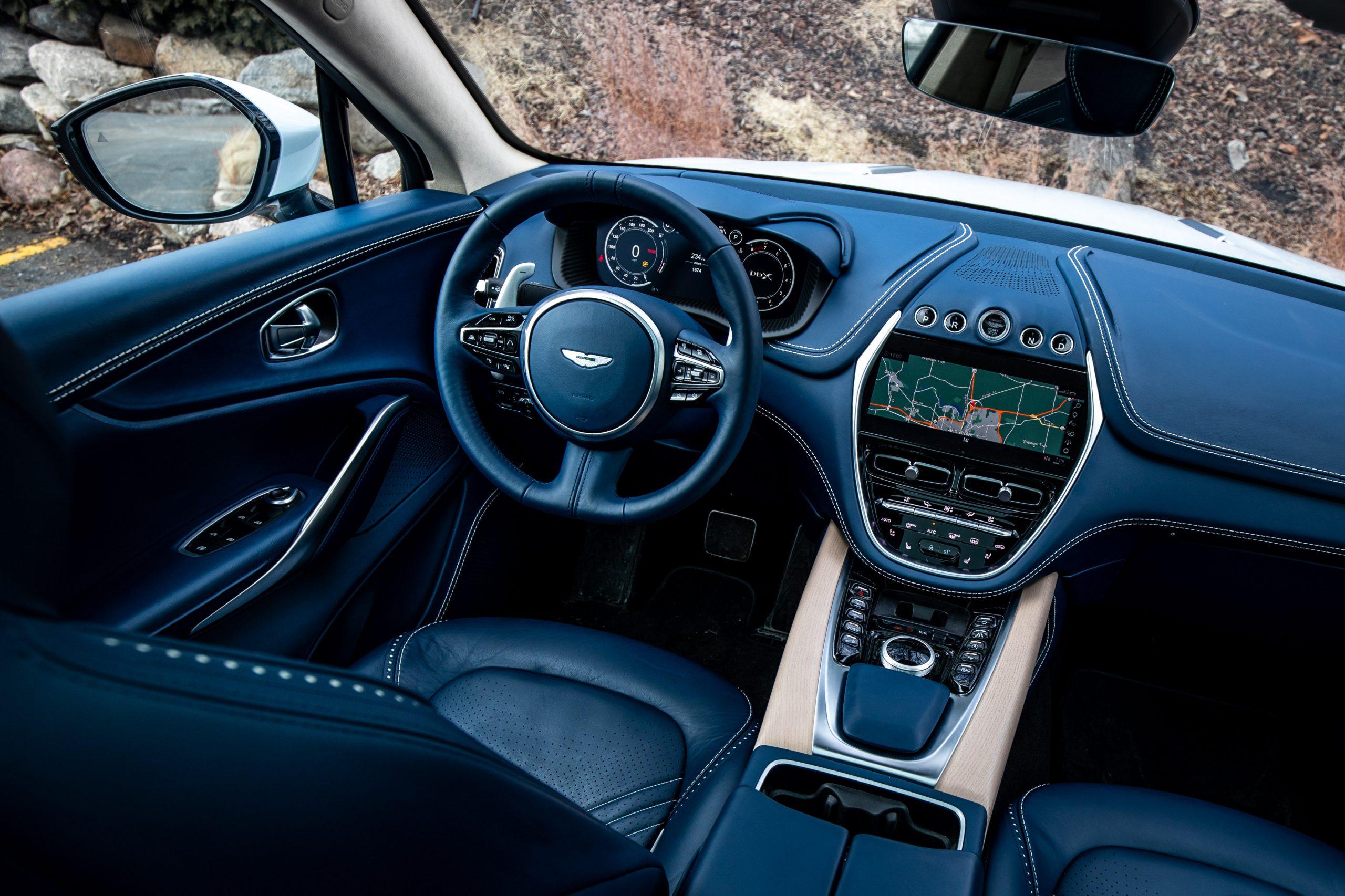 2021 Aston Martin DBX interior drivers seat