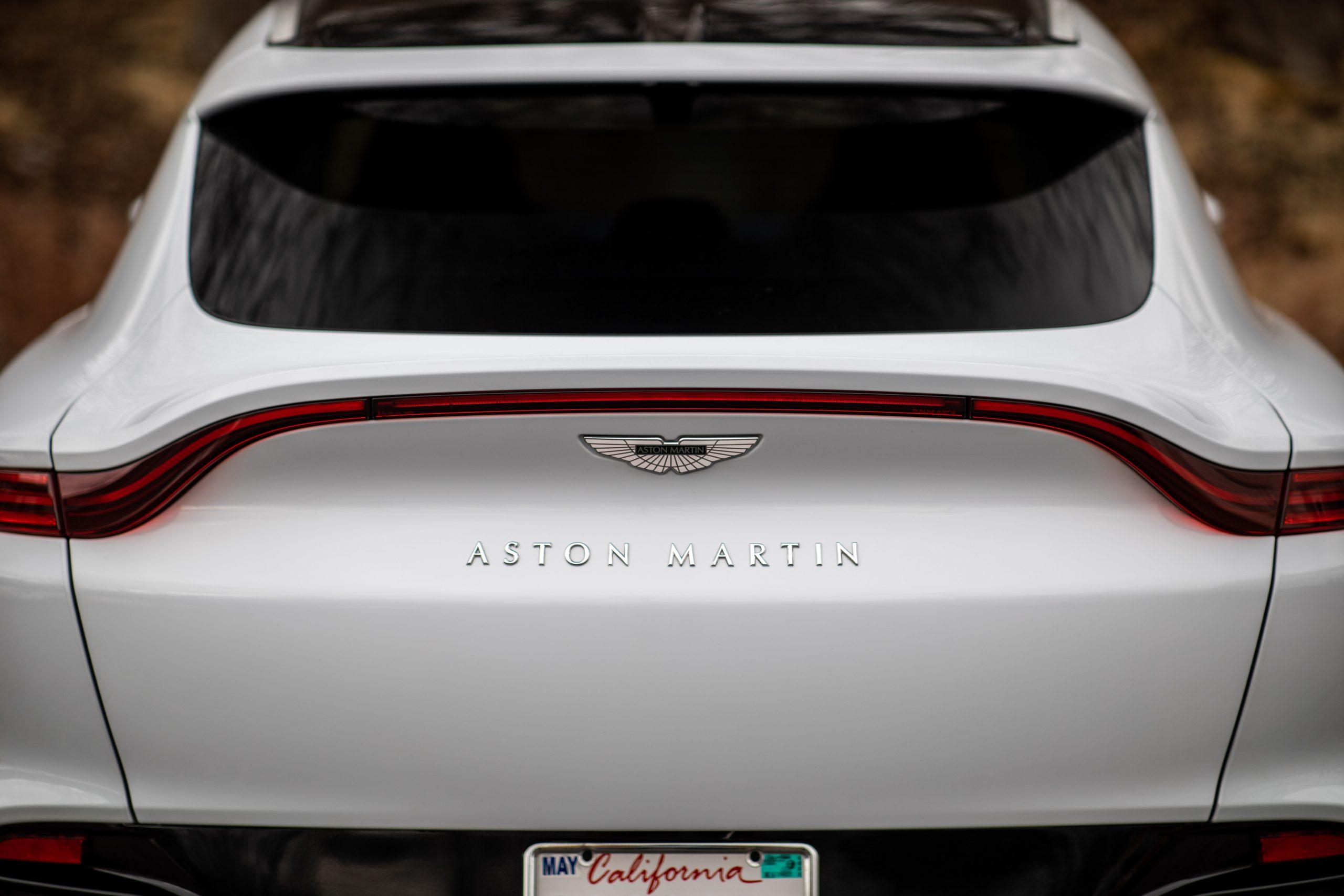 2021 Aston Martin DBX rear close
