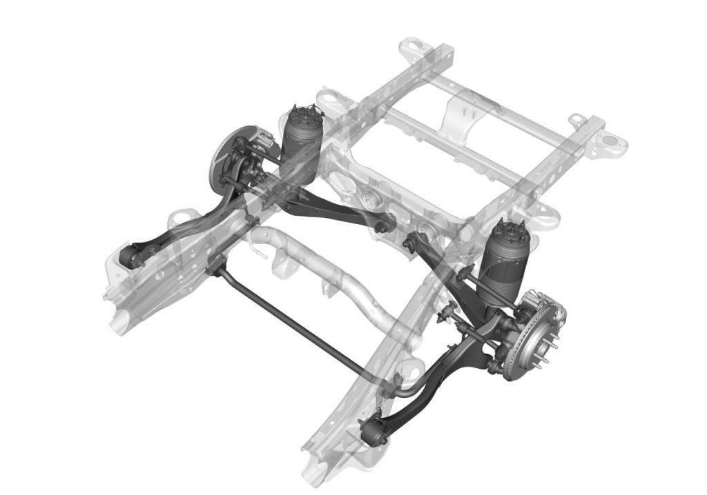 Suburban independent rear suspension