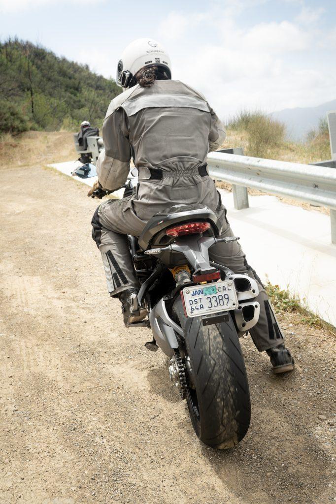 2021 Ducati Monster 1200 S rear rider mounted