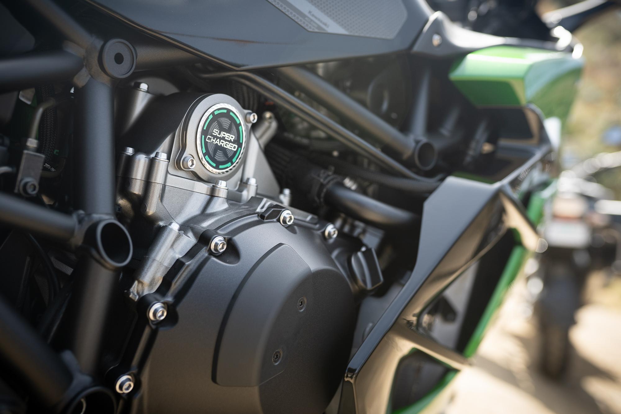 2021 Kawasaki H2 SX-SE super charged