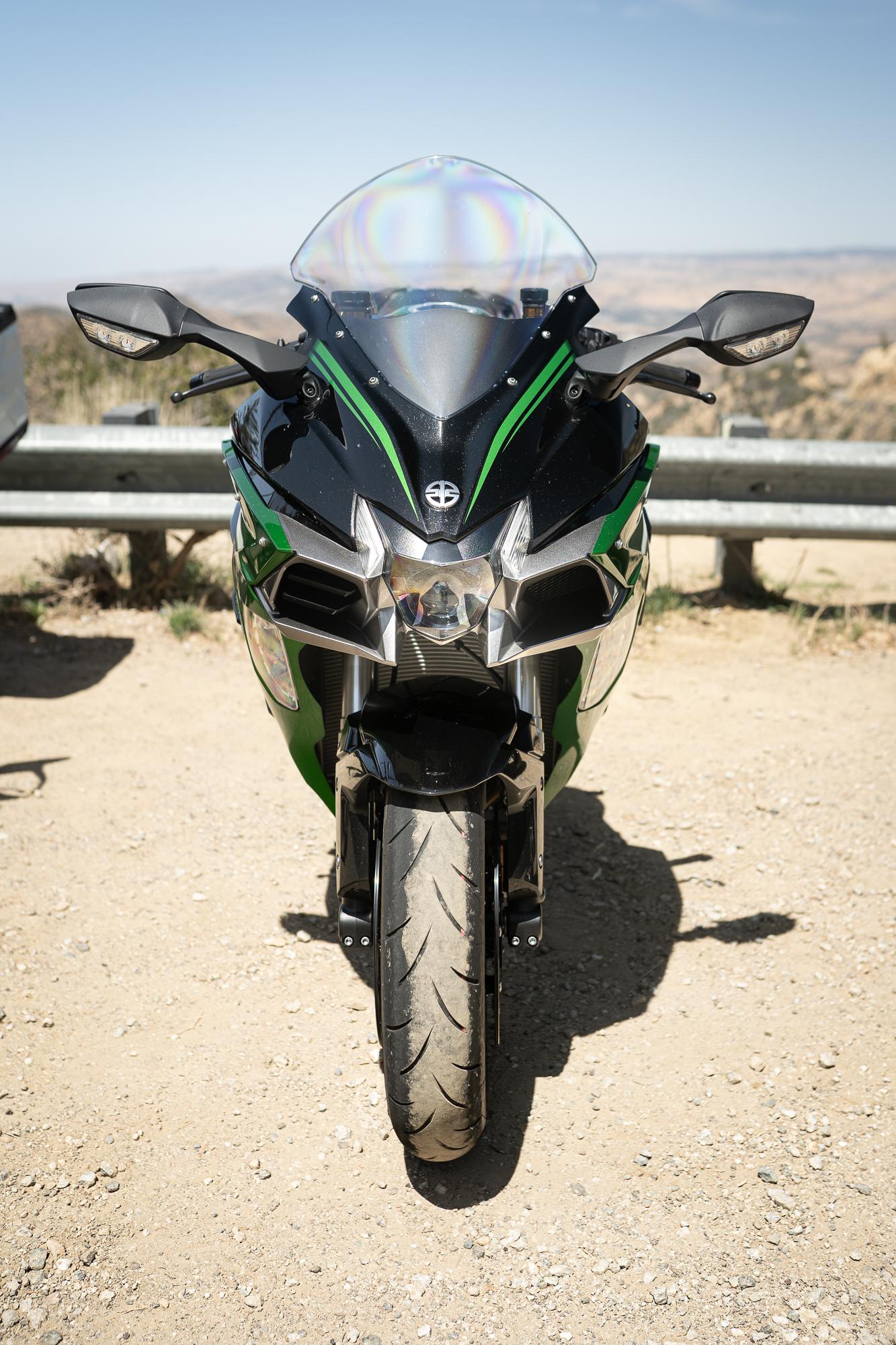 2021 Kawasaki H2 SX-SE front