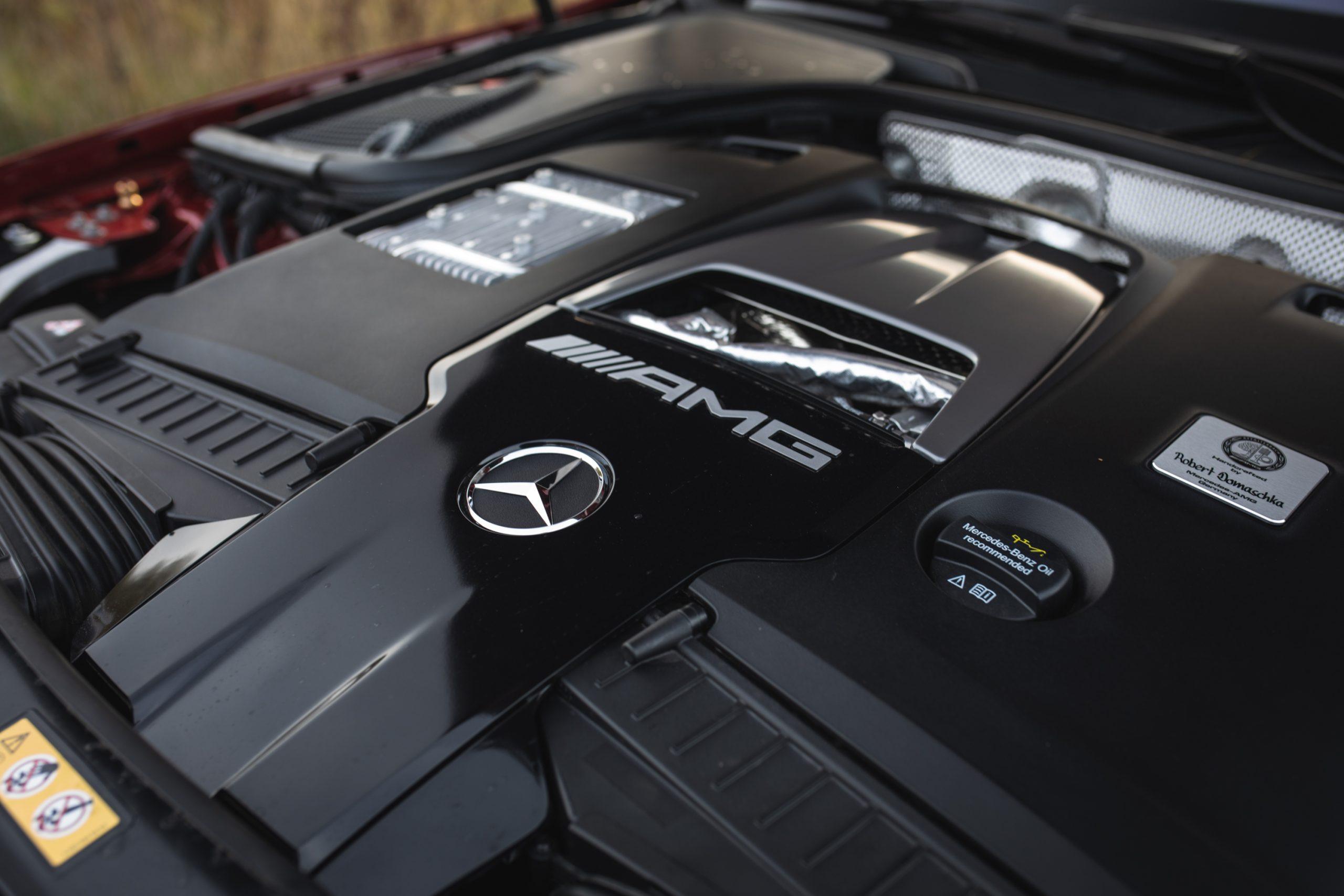 2021 Mercedes-AMG E63 S wagon engine