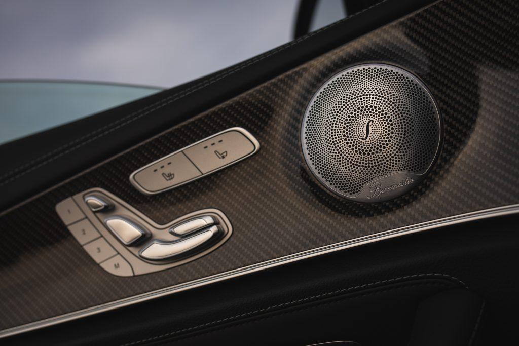 2021 Mercedes-AMG E63 S wagon interior seat position speaker