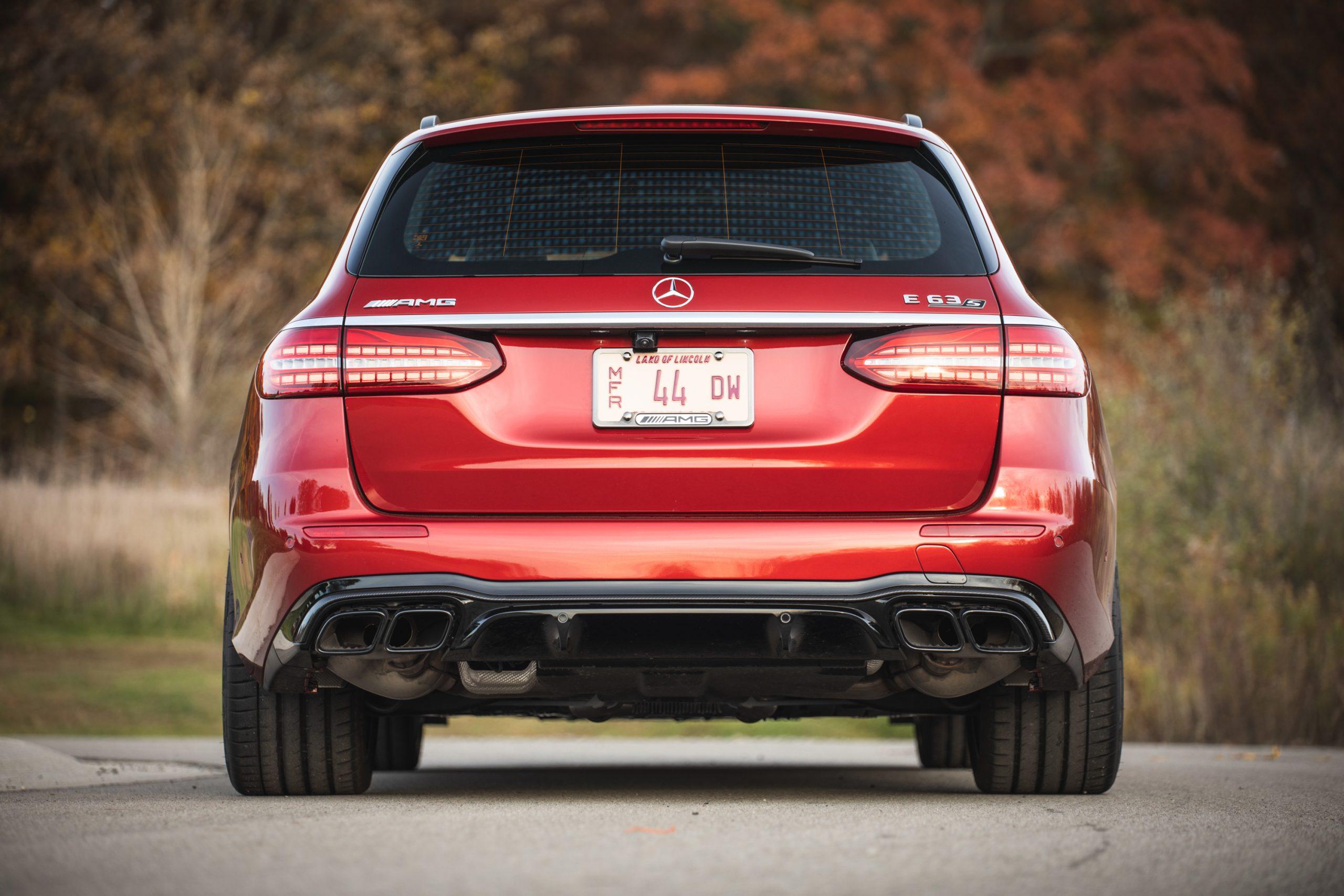 2021 Mercedes-AMG E63 S rear