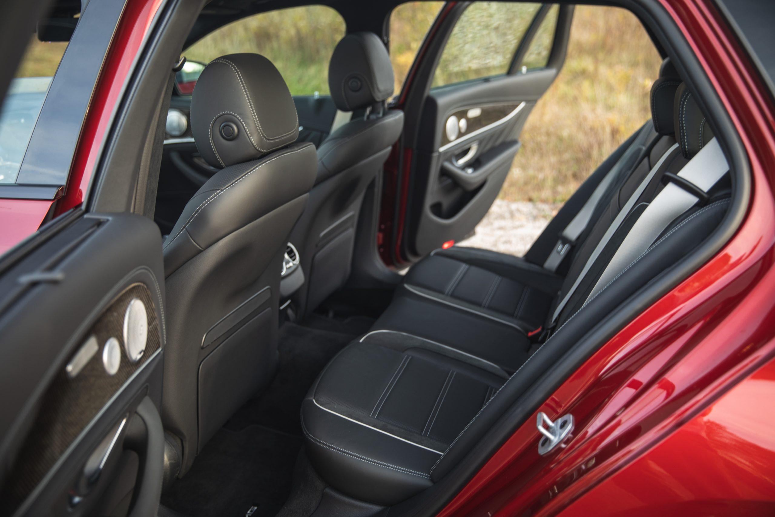 2021 Mercedes-AMG E63 S wagon rear seat room