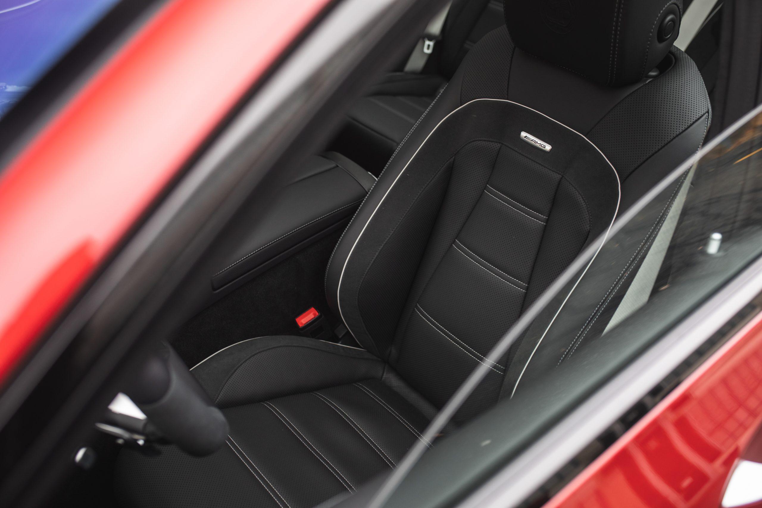 2021 Mercedes-AMG E63 S interior front seat