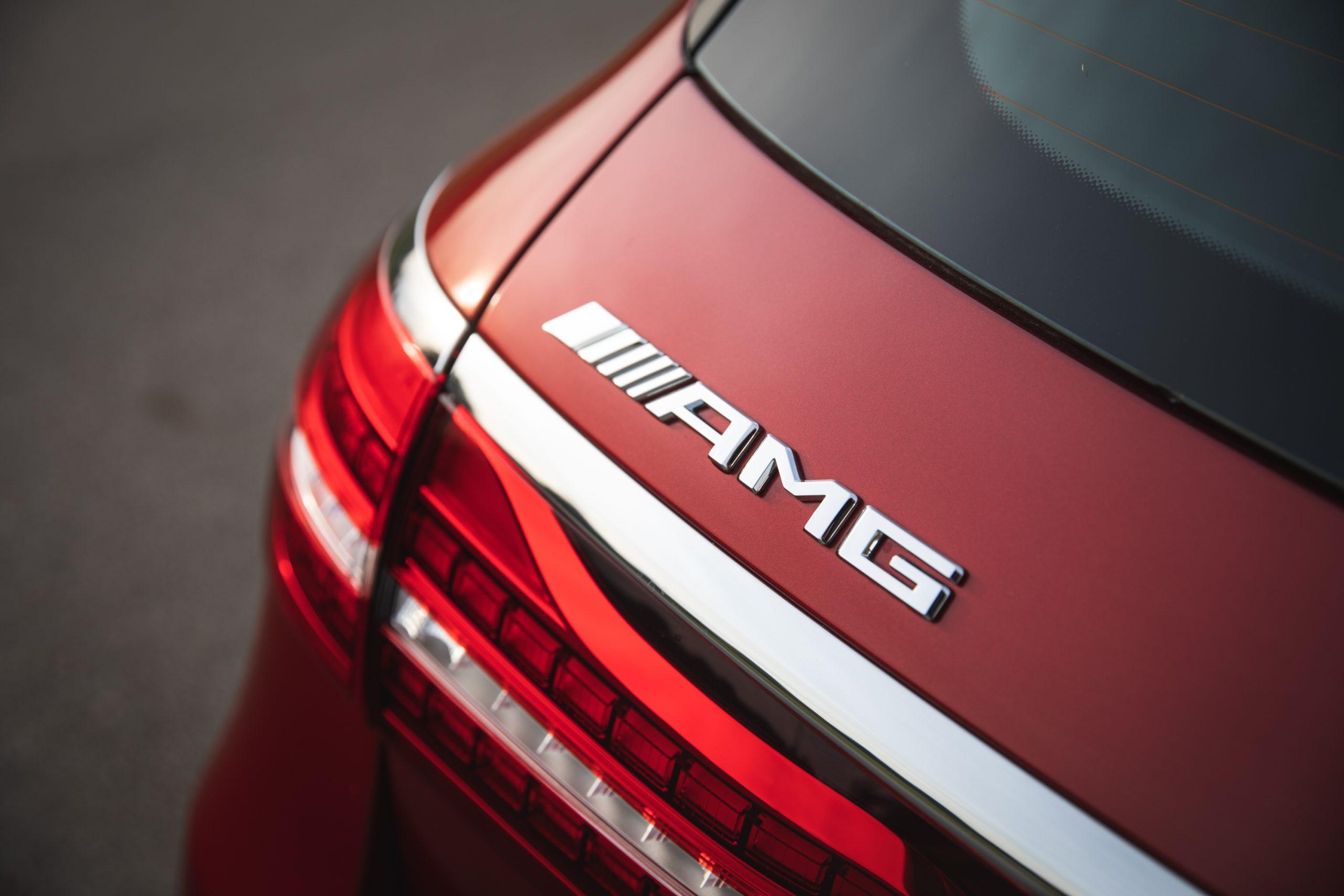 2021 Mercedes-AMG E63 S wagon rear badging