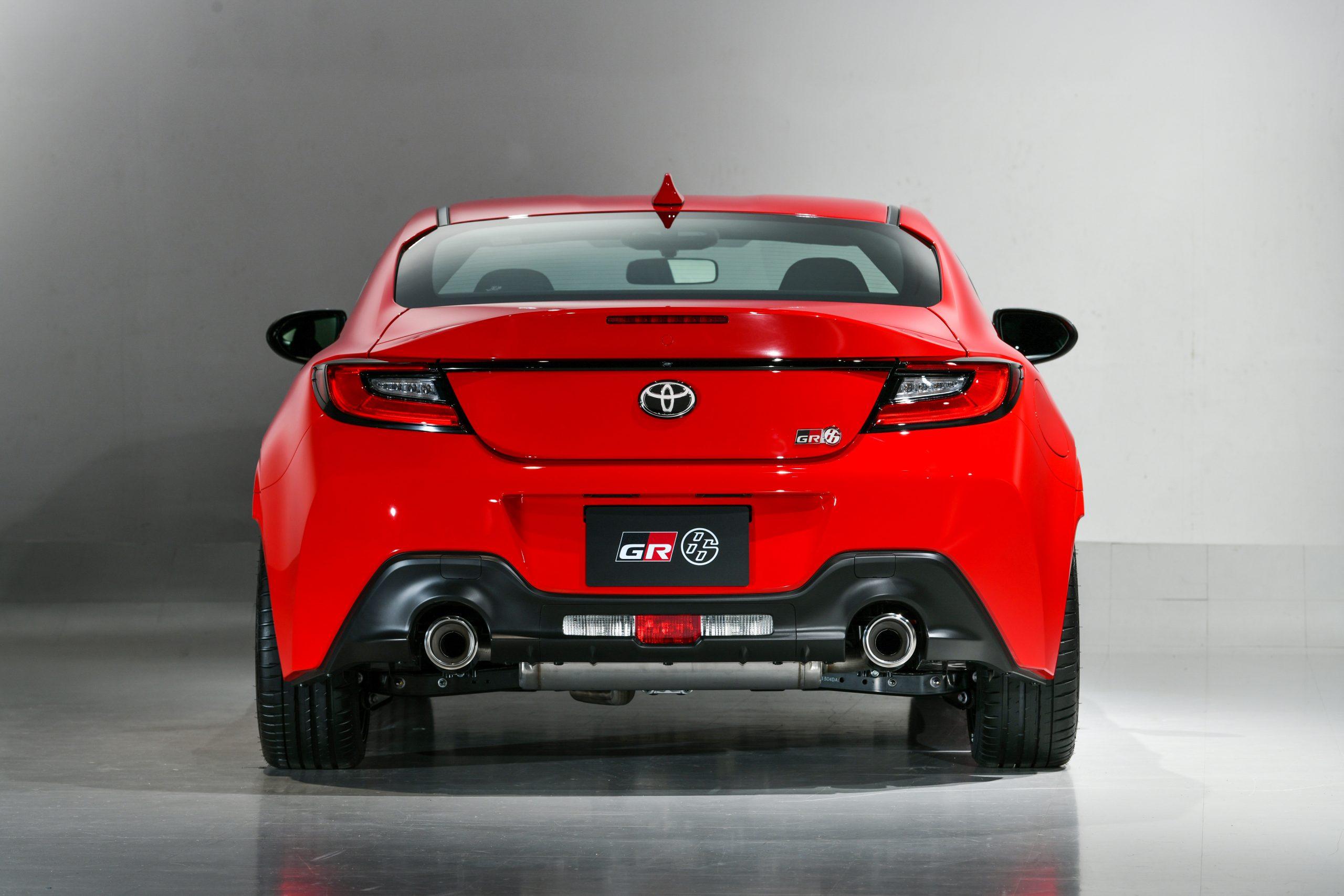 Toyota 2022 GR 86 rear