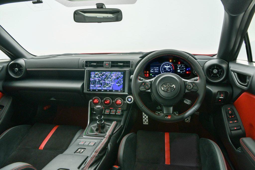 Toyota 2022 GR 86 interior