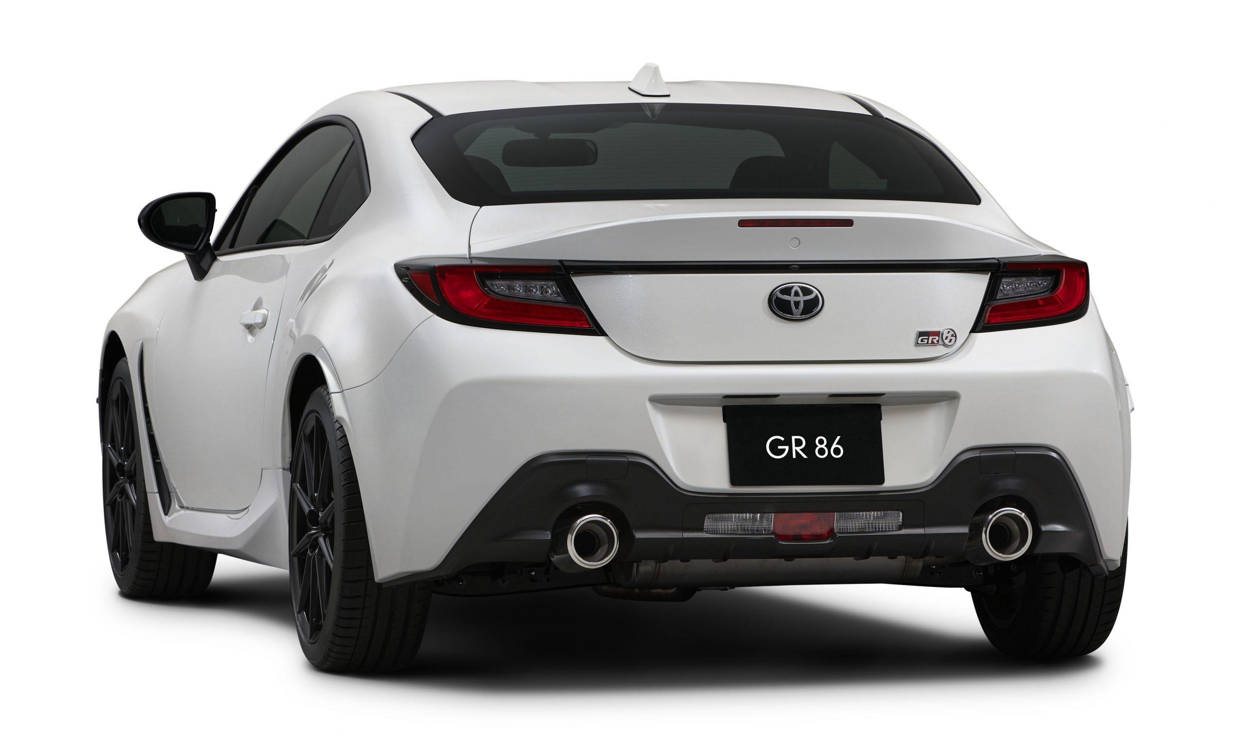Toyota 2022 GR 86 Japan-spec rear