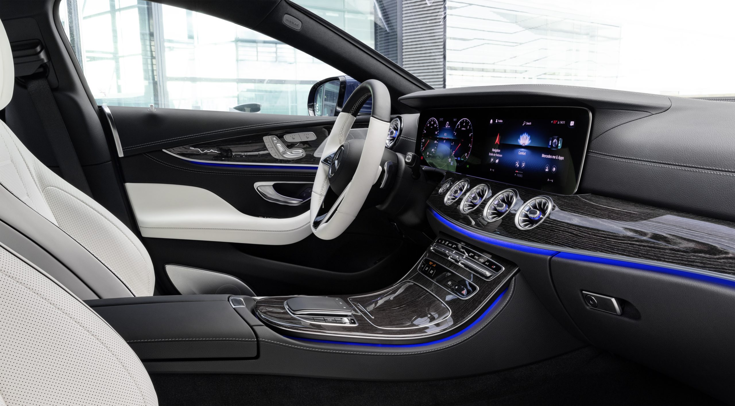 2021 Mercedes-Benz CLS 450 4Matic Coupé interior