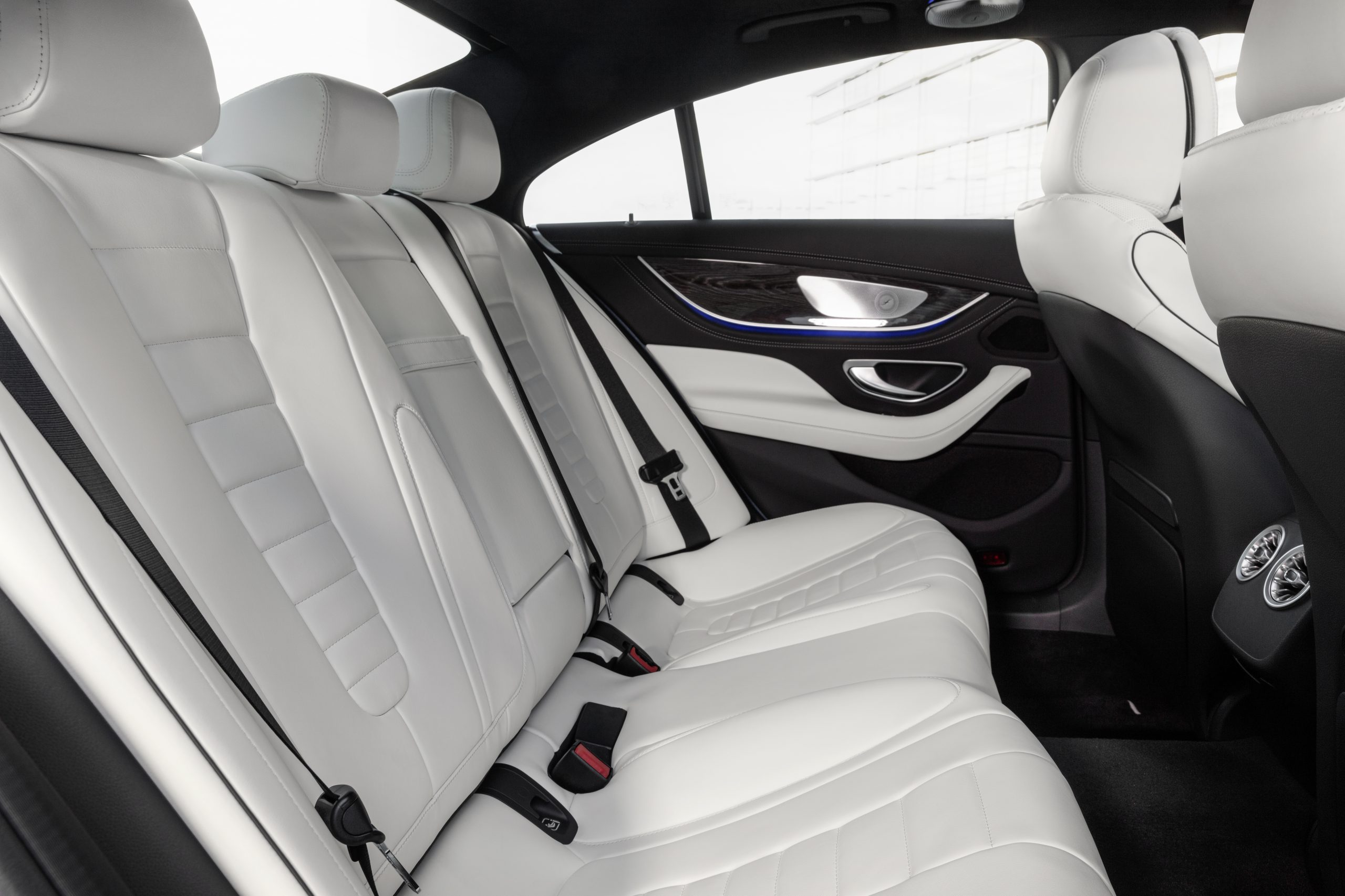 2021 Mercedes-Benz CLS 450 4Matic Coupé interior rear seat