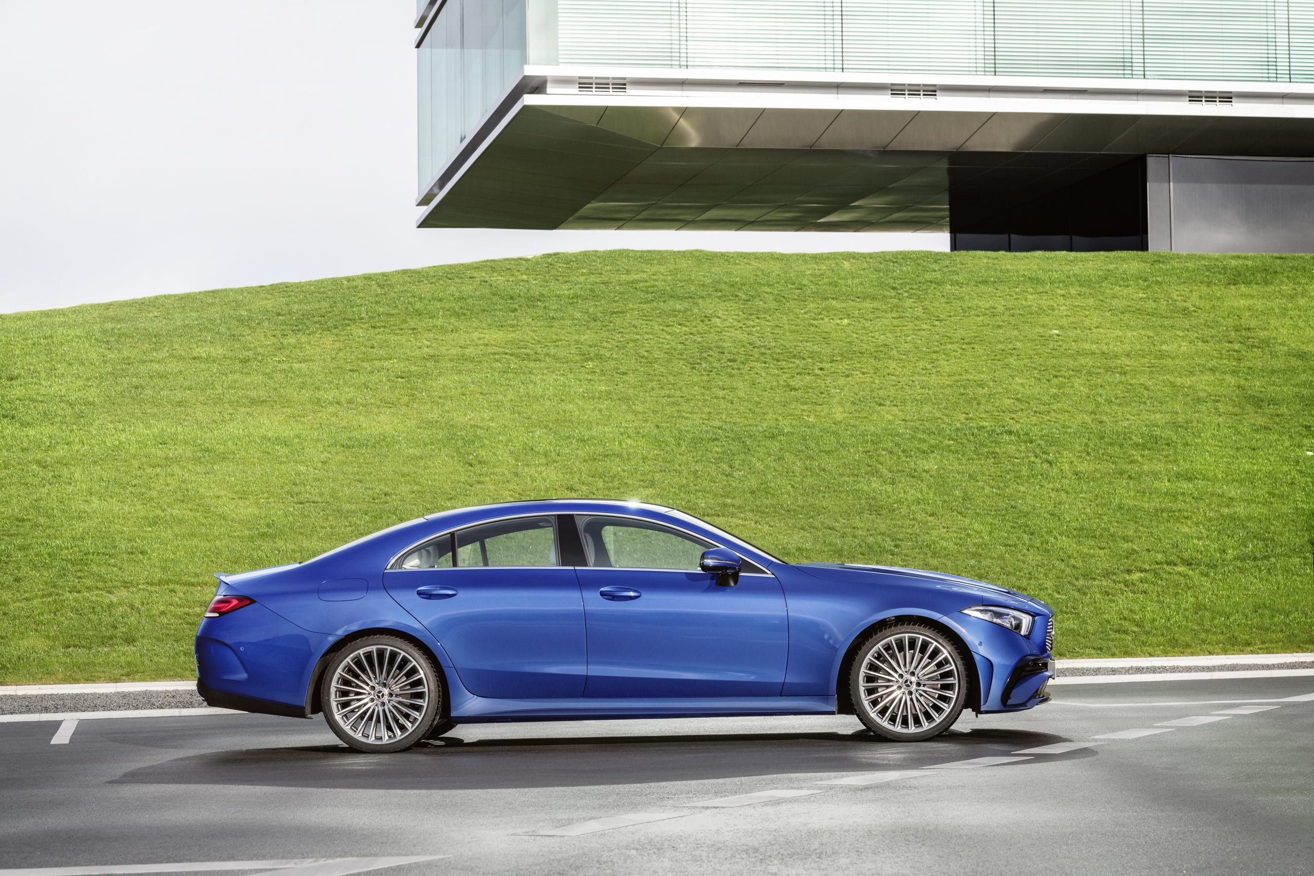 2021 Mercedes-Benz CLS 450 4Matic Coupé profile