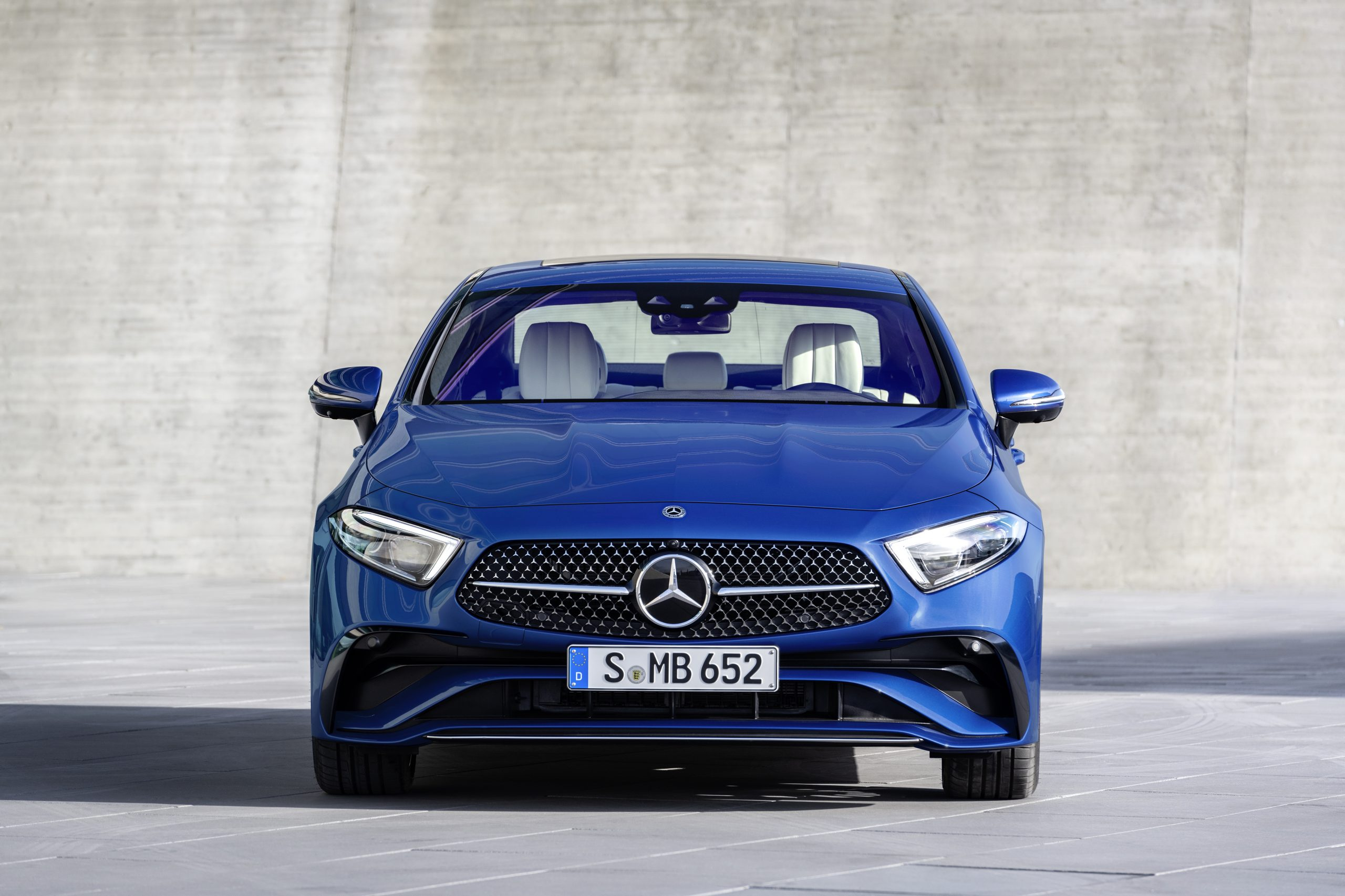 2021 Mercedes-Benz CLS 450 4Matic Coupé front grille
