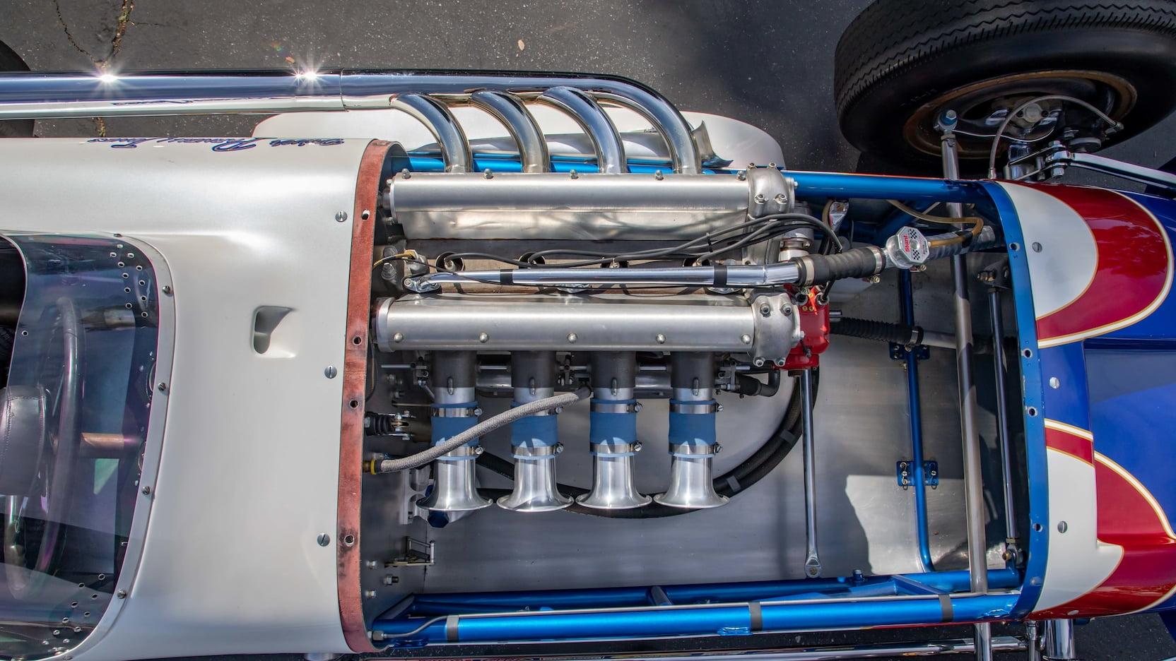 1960 Watson Offenhauser Ol Calhoun Replica Parnelli Jones Mecum engine