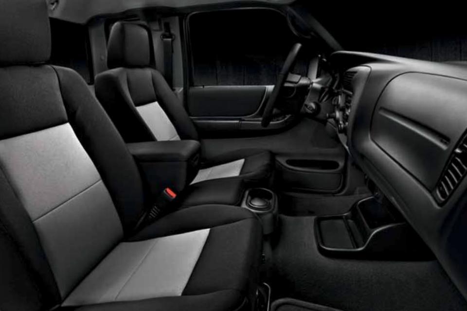 2011 Ranger Supercab Interior