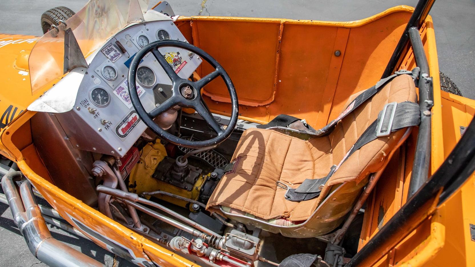 1927 Ford T-bucket track roadster Parnelli Jones Mecum interior