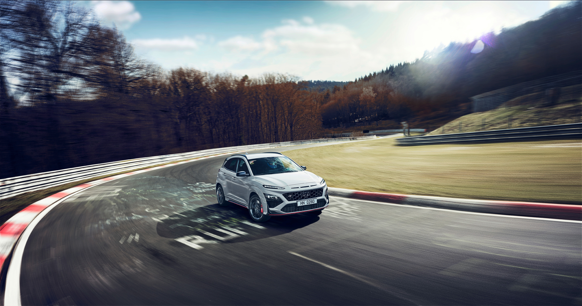 Hyundai Kona N track 2