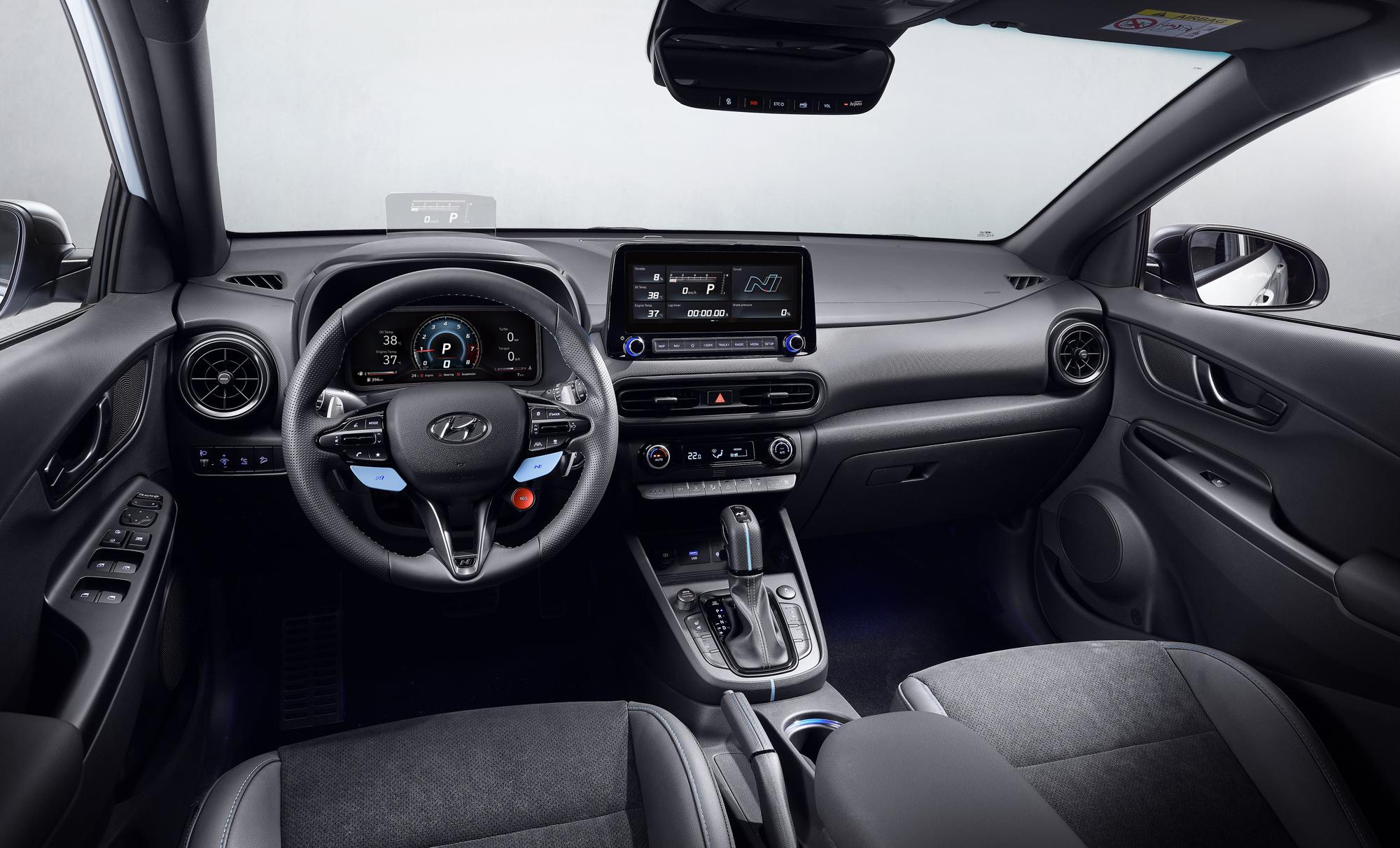 Hyundai Kona N interior 2