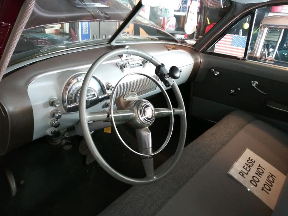 1948 Oldsmobile interior
