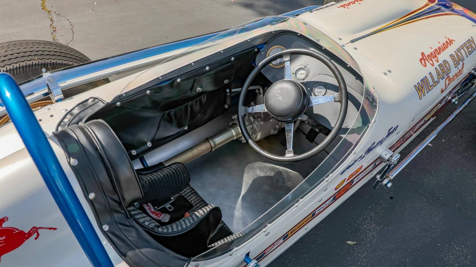 1960 Watson Offenhauser Ol Calhoun Replica Parnelli Jones Mecum interior