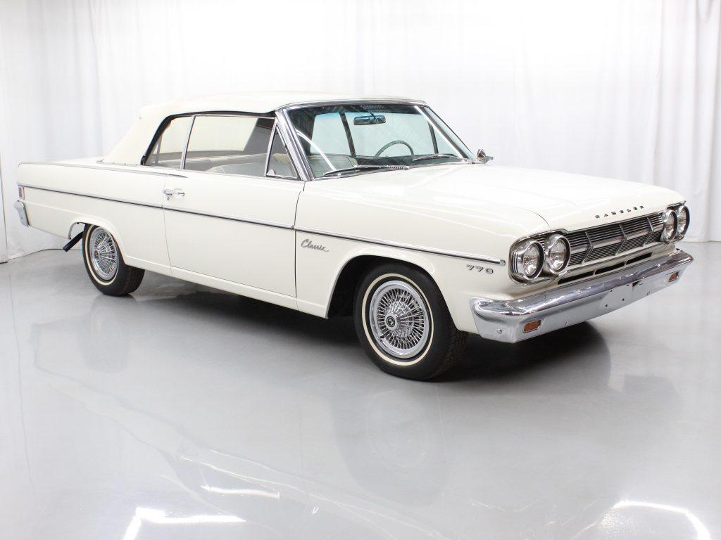1965 AMC Rambler Classic 770 front three-quarter