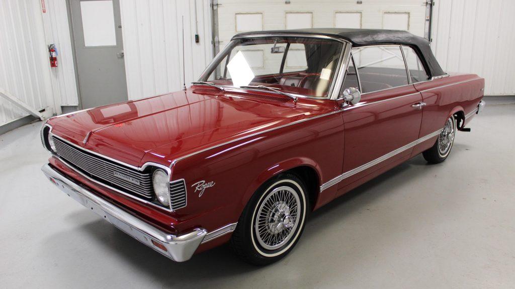 1967 AMC Rambler Rouge Convertible front three-quarter