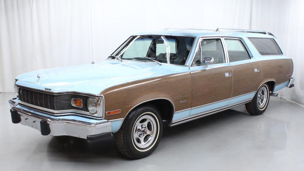 1977 AMC Matador Wagon front three-quarter