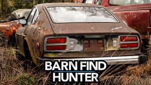 Datsun Dreamland: Tom finds a large collection of 510s and Z Cars | Barn Find Hunter Ep. 98