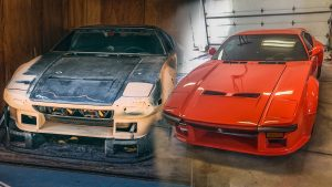 BEFORE & AFTER: The De Tomaso Pantera we found is restored after 35 years | Barn Find Hunter – Ep. 97