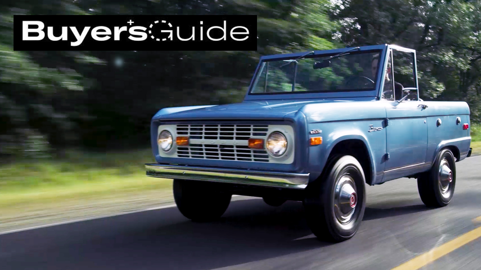 First Gen Ford Bronco Buyers Guide