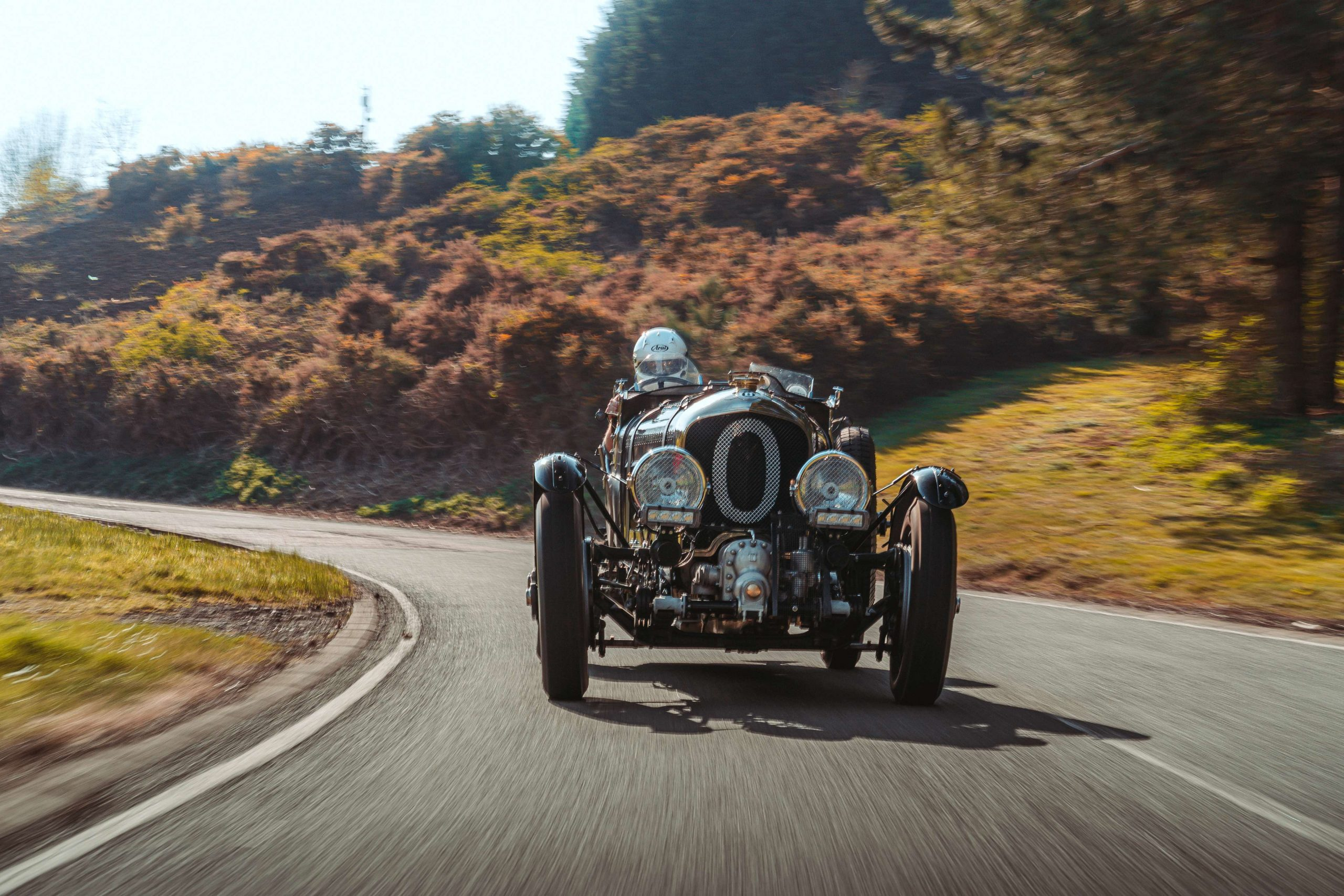 Bentley Blower Continuation Car front action