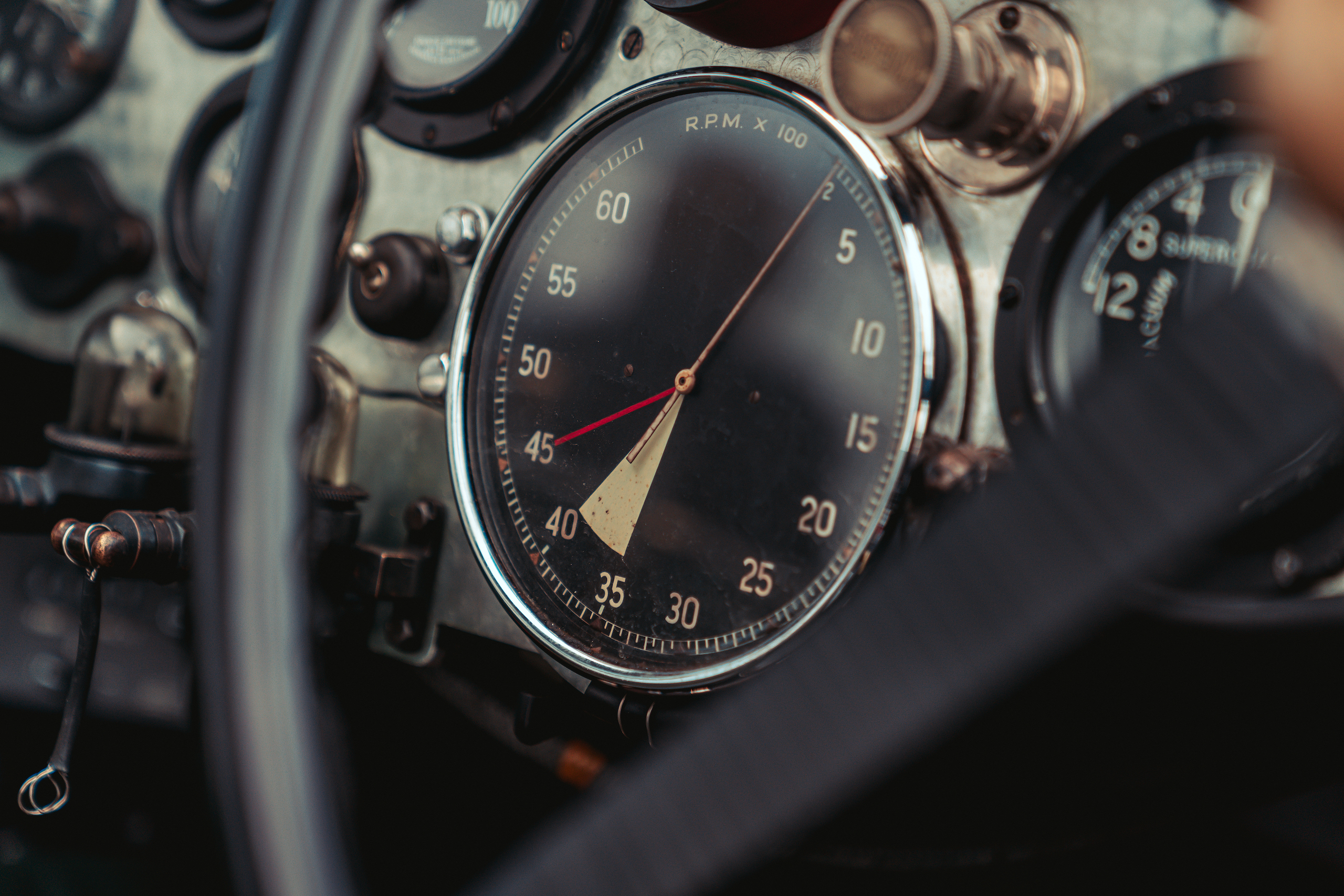 Blower Bentley rpm detail