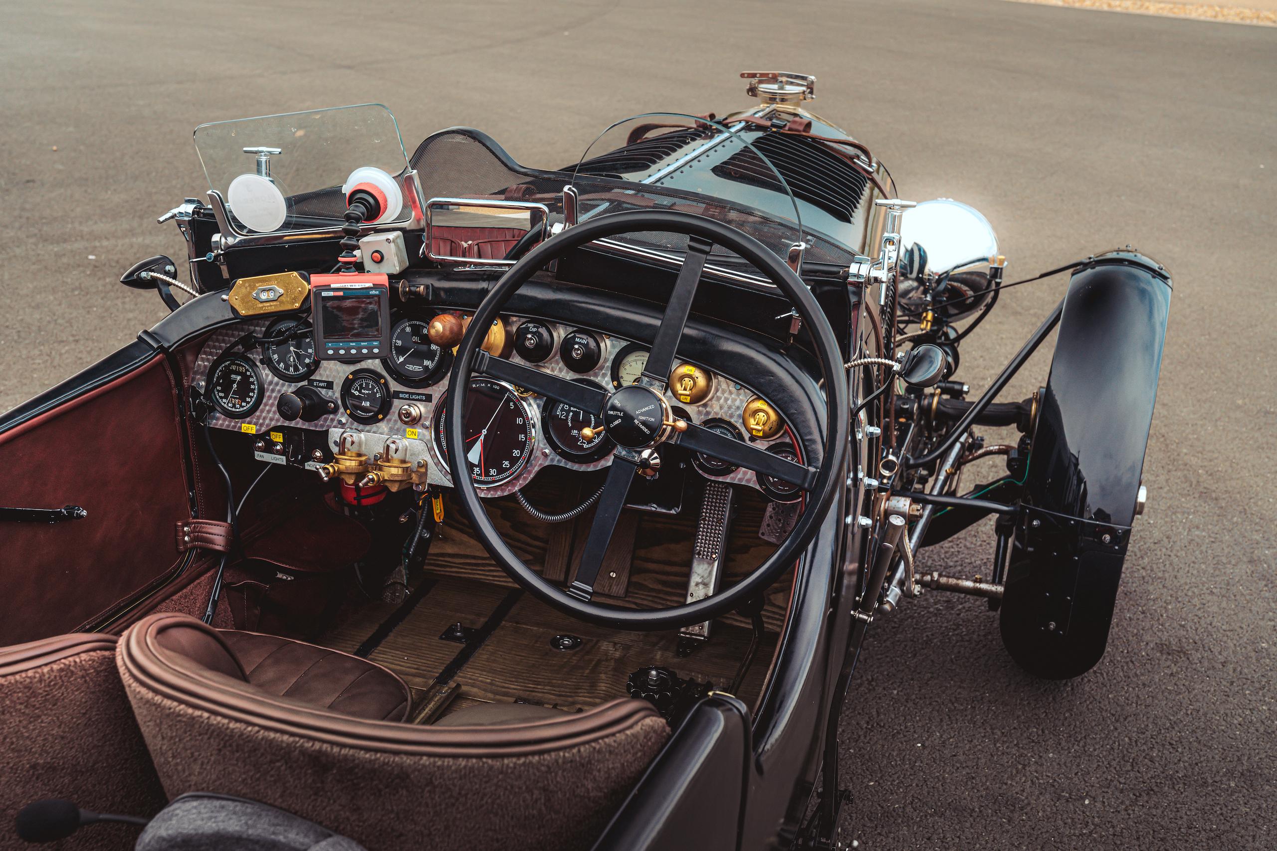 Blower Bentley interior