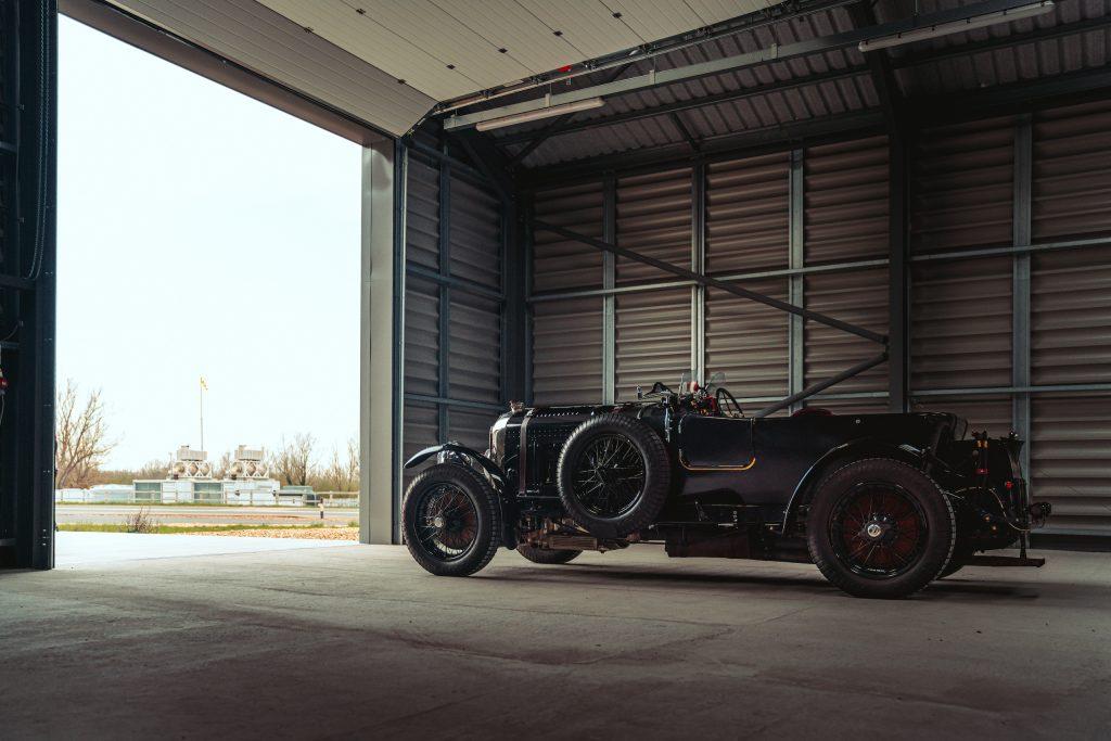 Blower Bentley side hangar