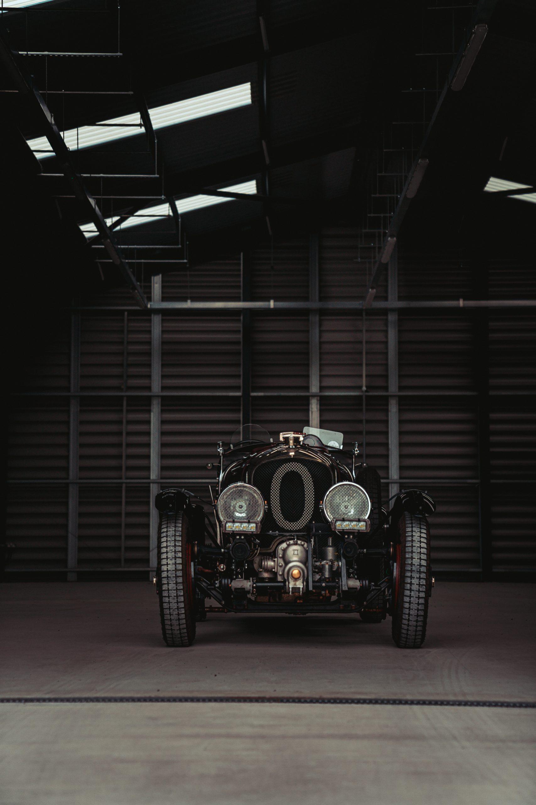 Blower Bentley front hangar