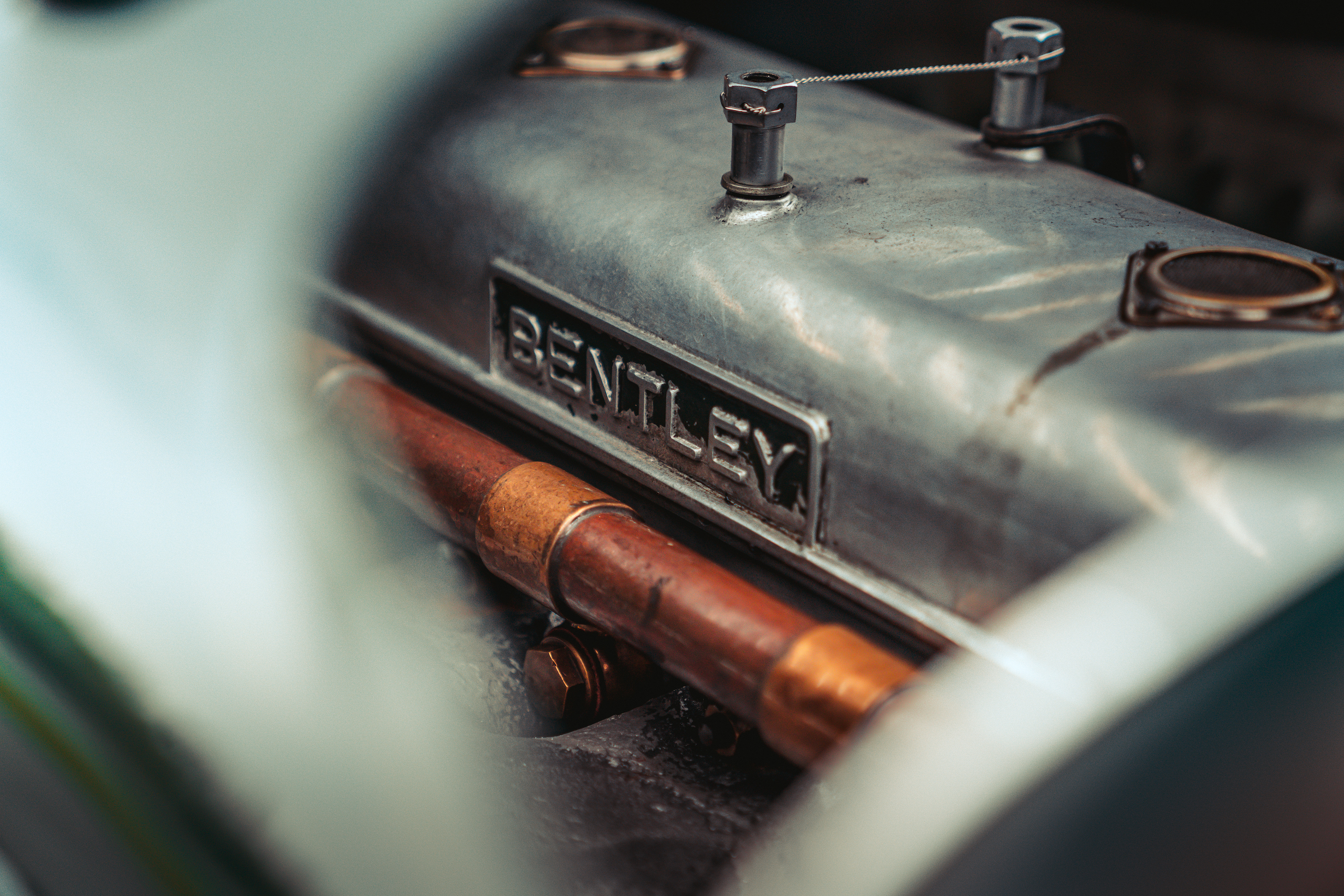 Blower Bentley engine cover detail