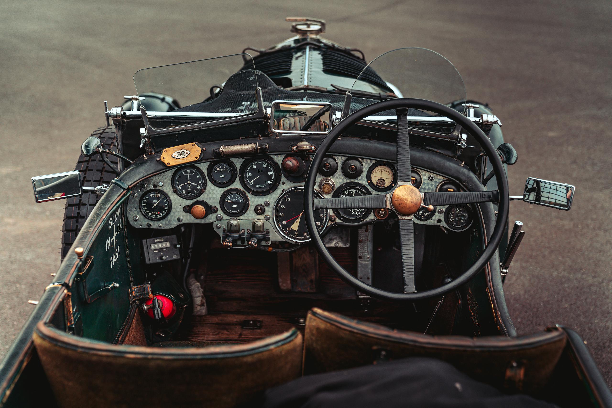 Blower Bentley interior front