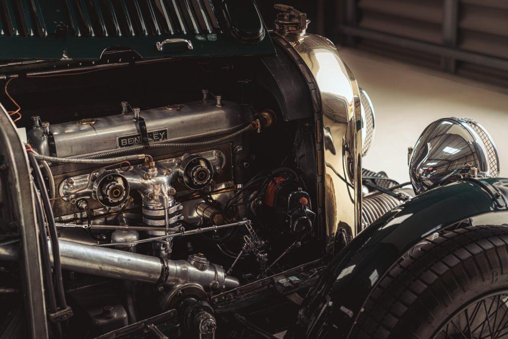 Blower Bentley engine