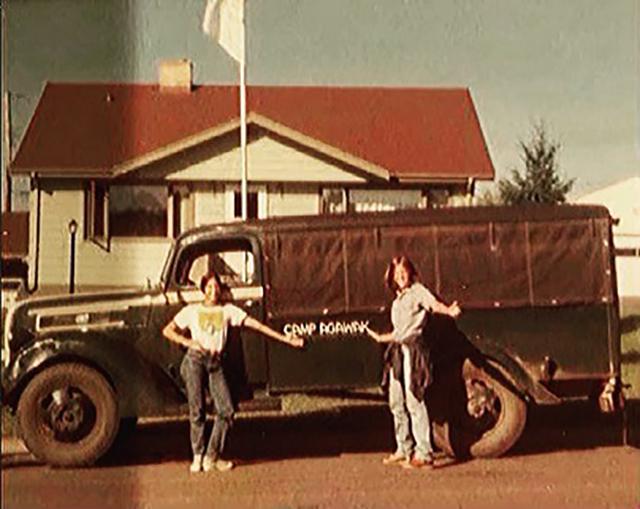 Camp Agawak Girls Camp truck