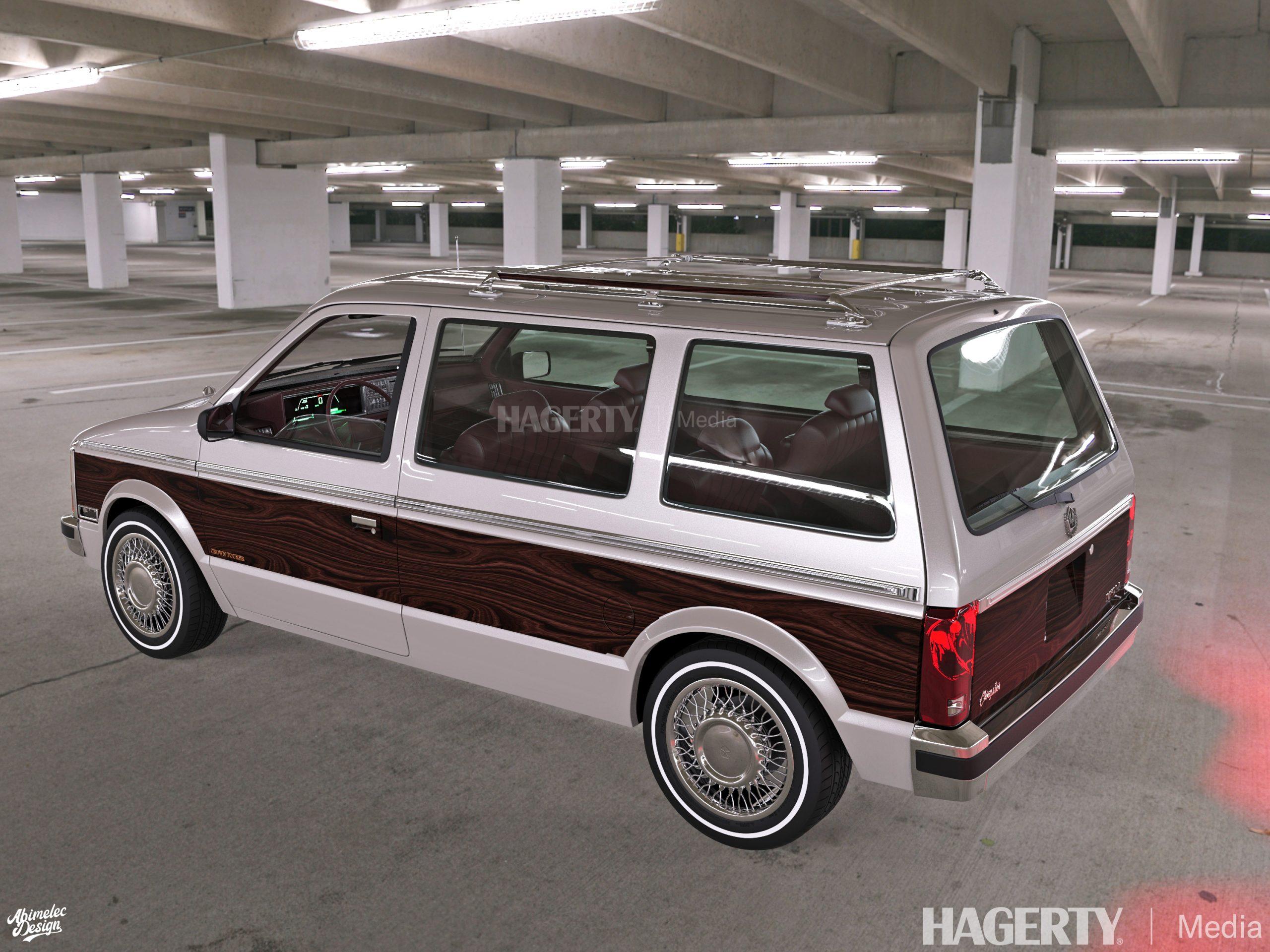 Chrysler Imperial Crown Tourer silver rear three-quarter